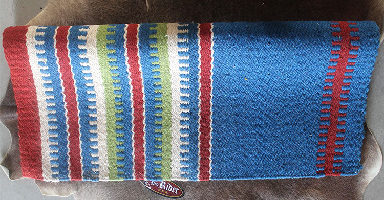 34x36 Horse Wool Western Show Trail SADDLE BLANKET Rodeo Pad Rug  36S327