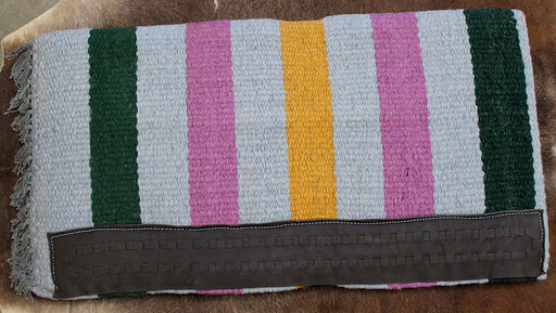 34x36 Horse Wool Western Show Trail SADDLE BLANKET Pad Rug  36S689