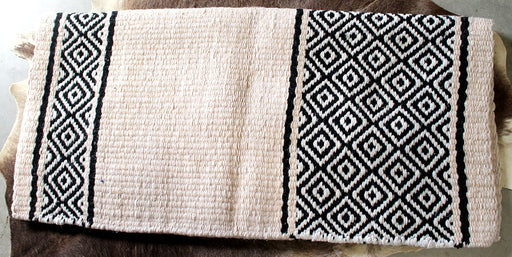 34x36 Horse Wool Western Show Trail SADDLE BLANKET Rodeo Pad Rug  36S756