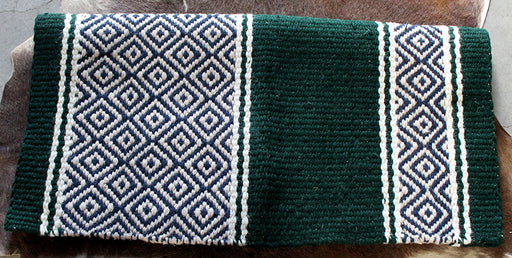 34x36 Horse Wool Western Show Trail SADDLE BLANKET Pad Rug  36S779