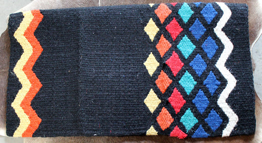 34x36 Horse Wool Western Show Trail SADDLE BLANKET Pad Rug  36S817