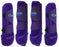 Professional Equine Medium 4-Pack Sports Medicine Splint Boots Purple 41PRC