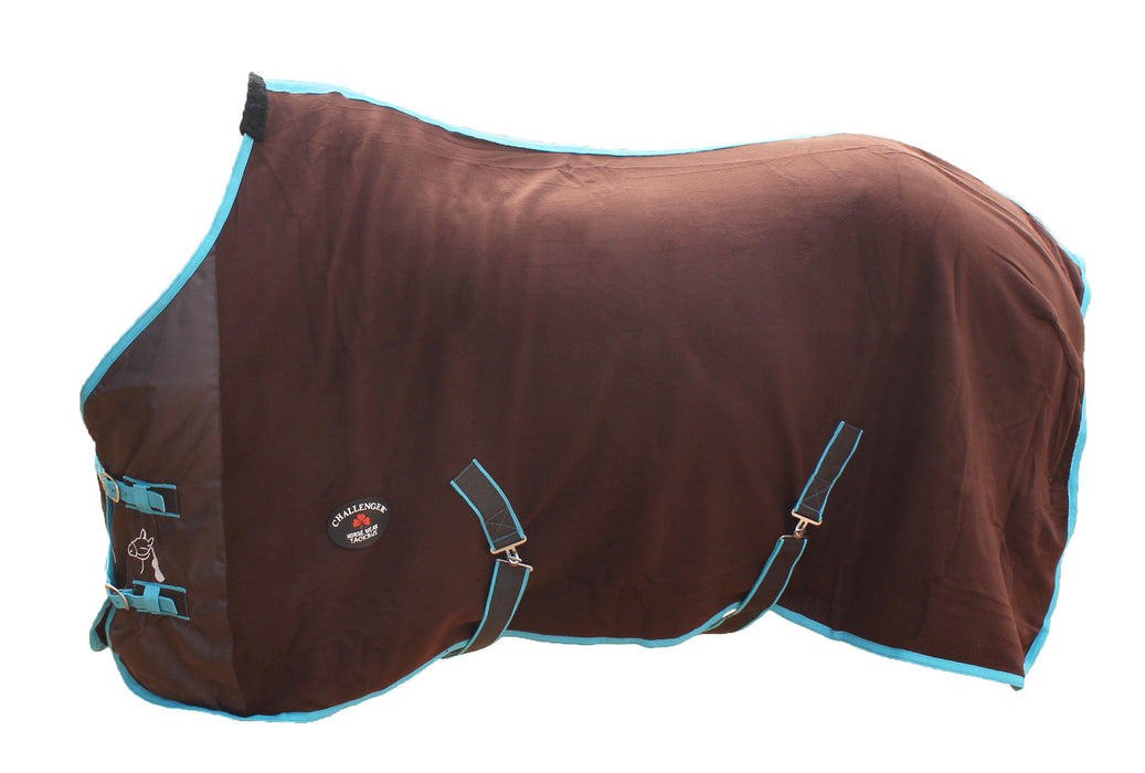 Horse Sheet Polar FLEECE COOLER Exercise Blanket Wicks Moisture  4386