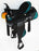 Western Cordura Trail Barrel Pleasure Horse SADDLE Black 4994