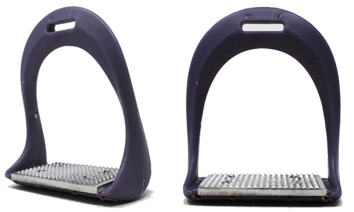 Horse Saddle Riding Light Weight Composite English Stirrups Lavender 51138PR