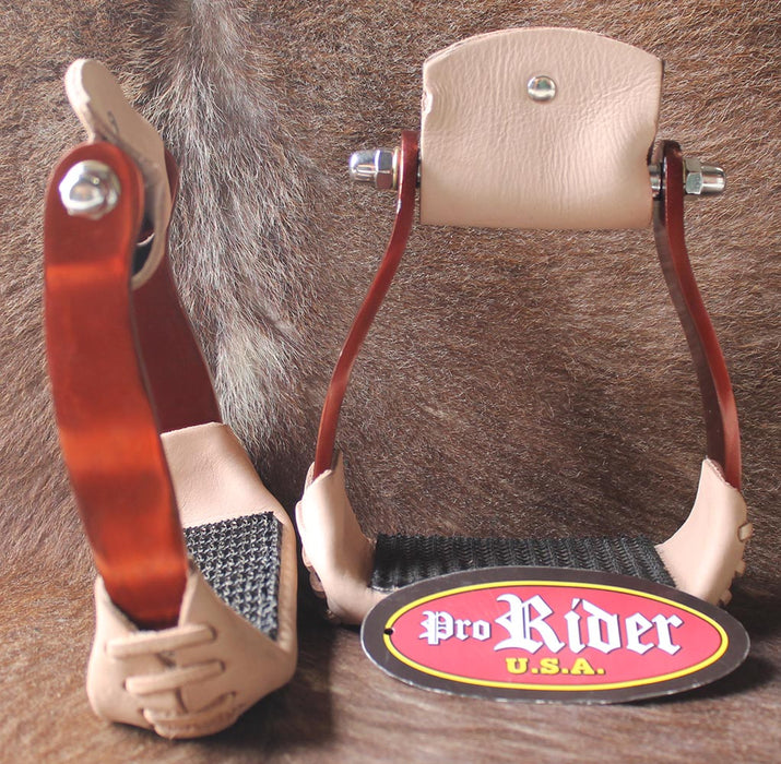 "Horse Saddle Barrel Racing Aluminum 5"" Wide Western Stirrups  5175"