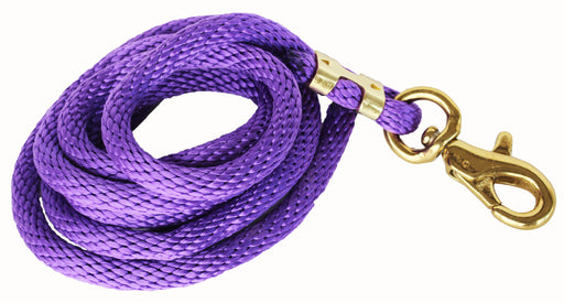 10 ft Horse Nylon Heavy Duty Lead Rope Brass Hardware 60535