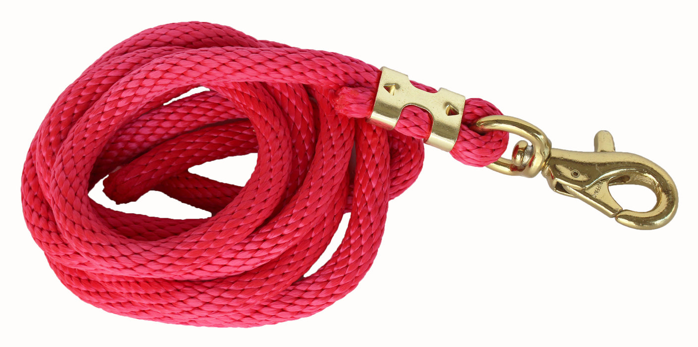 10 Feet Horse Nylon Heavy Duty Lead Rope Brass Hardware 60534-47