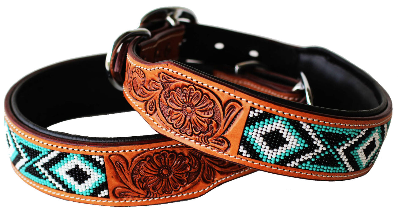 Rhinestone Dog Puppy Collar Crystal Cow Leather 6054