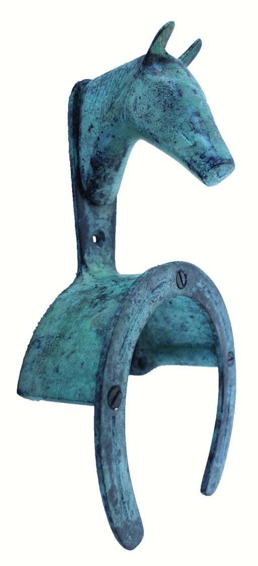 Metal Horse Equestrian Stable Wall Mounted Bridle Tack Holder 6732