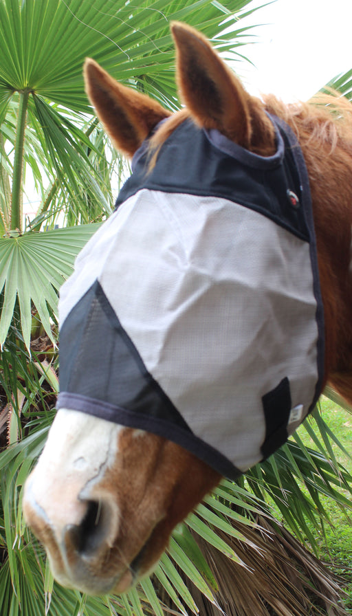 Equine Horse Fly Mask Summer Spring Airflow Mesh UV Mosquitoes  732101BK