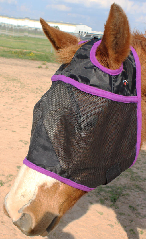 Equine Horse Fly Mask Summer Spring Airflow Mesh UV Mosquitoes  732102PR
