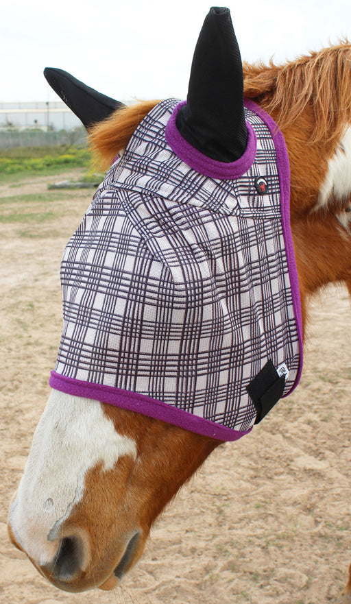 Equine Horse Fly Mask Summer Spring Airflow Mesh UV Mosquitoes  73214PRC