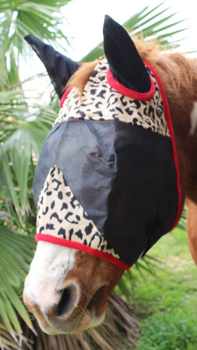 Equine Horse Light Weight Fly Mask Summer Spring Airflow Mesh 73216VAR