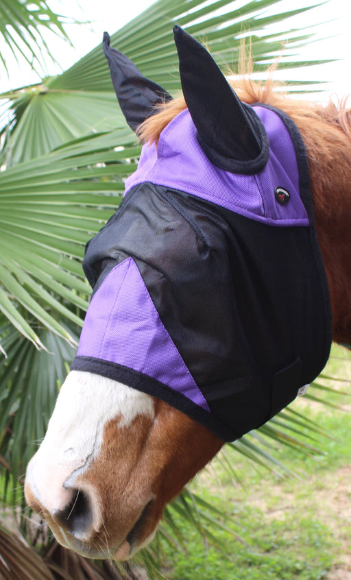 Equine Horse Fly Mask Summer Spring Airflow Mesh UV Mosquitoes  73261PR