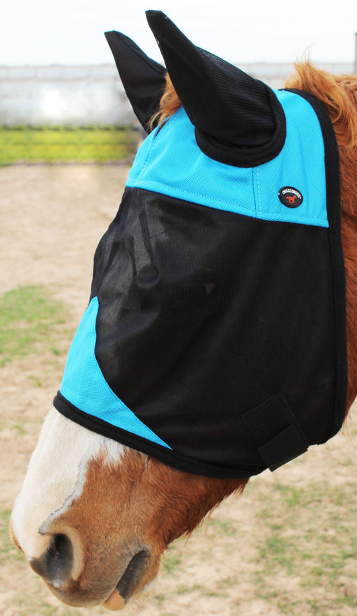 Horse Fly Mask Summer Spring Airflow Mesh UV Mosquitoes  Cob 73261TRC