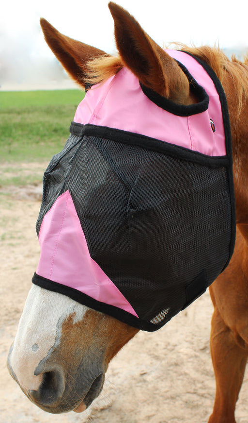 Equine Horse Fly Mask Summer Spring Airflow Mesh UV Mosquitoes 73268