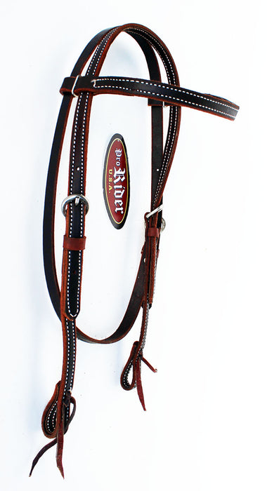 Horse Show Saddle Tack Rodeo Bridle Western Leather Headstall  78124HB