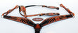 Horse Saddle Tack Bridle Western Leather Headstall BreastCollar 78129A