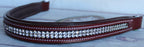Brown Leather Club BROWBAND Horse English Bridle Lot of 20 809lot20