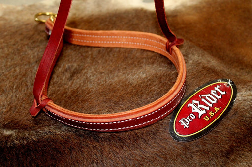 Horse Show Bridle Western Leather Barrel Racing Tack Rodeo NOSEBAND  99132