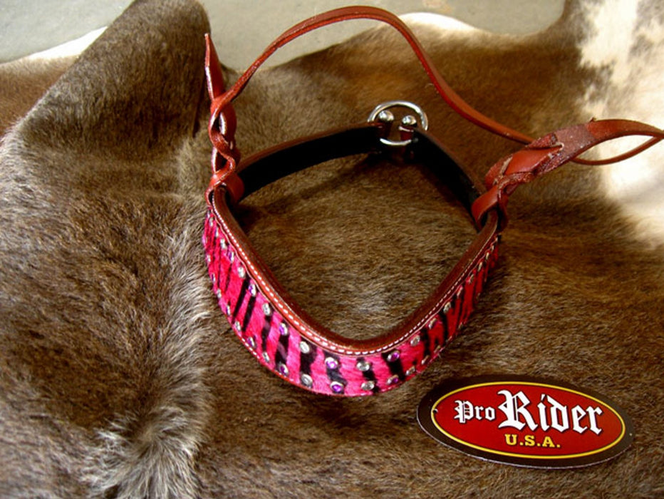 Horse Show Bridle Western Leather Barrel Racing Tack Rodeo Noseband  9982