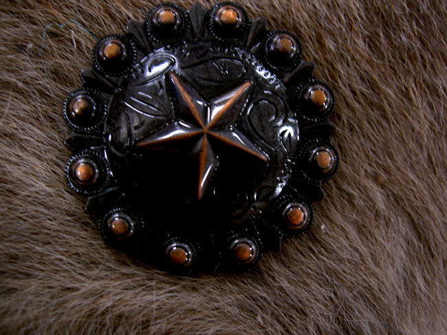 4 Conchos Rhinestone Horse Saddle Western  Berry CO425
