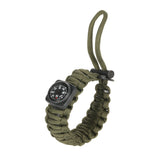 19 Piece Survival Paracord Bracelet