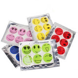 60pcs/ Set Smiley Insect Mosquito Repellent Stickers Patches Citronella Oil  Mosquito Killer Cartoon  Repeller Sticker