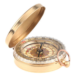 Classic Pocket Watch Style Antique Compass
