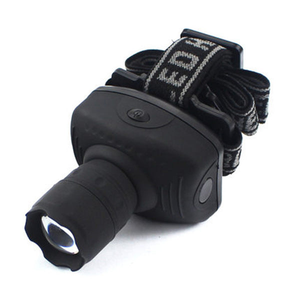 3 Modes LED Zoomable Headlamp