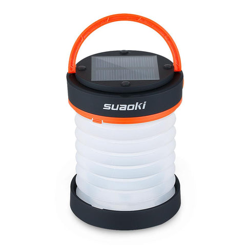 LED Collapsible USB and Solar Rechargeable Lantern