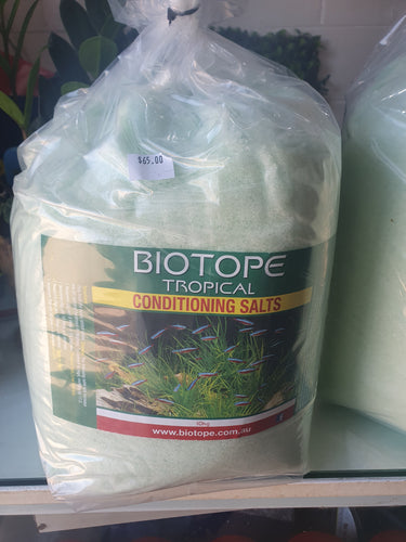 Biotope Tropic Conditioning salts small or large