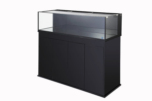 Nuvo Aquarium Shallow Reef 120 High Gloss Black Stand