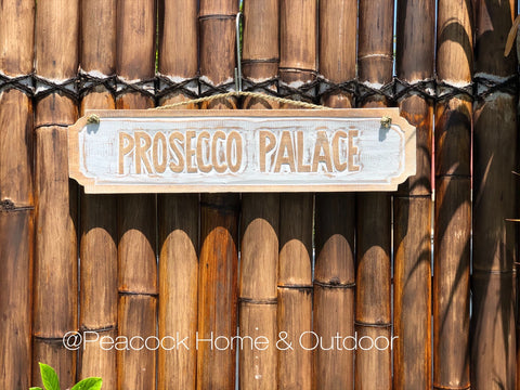 Prosecco Palace Wall Decor