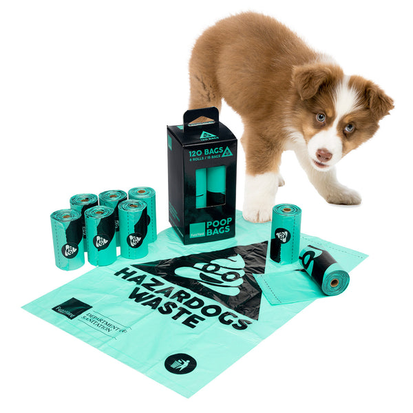 Poop Bags Biodegradables - Theo & Cleo