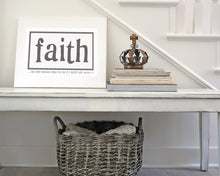 Faith - Rectangle Canvas in 3 sizes