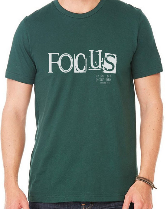 Focus (Unisex T-shirt) in 7 colors