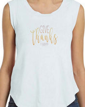 Give Thanks (Women's Cap Sleeve T-Shirt) in 2 colors