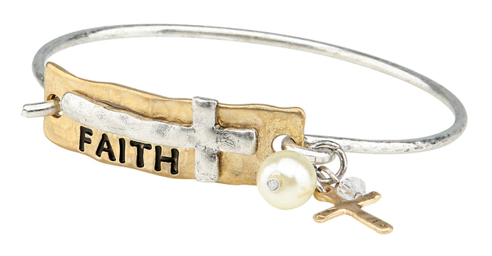 The Faith Latch Bracelet