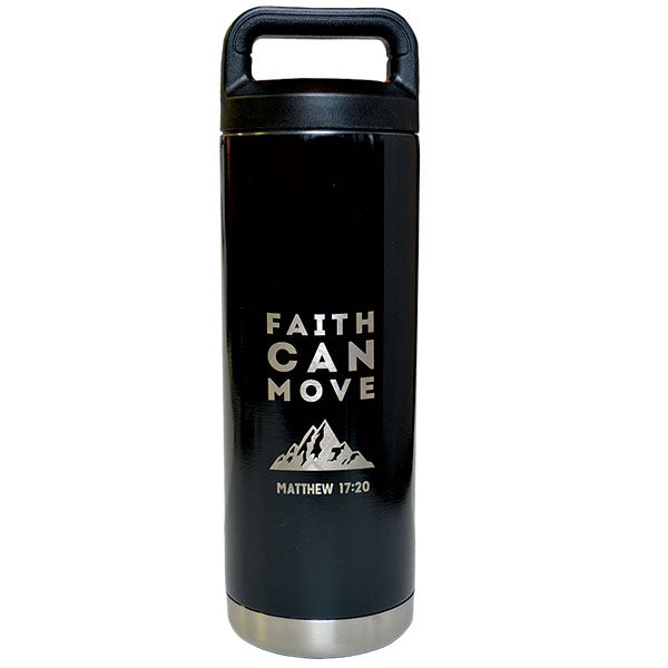 Faith Can Move Stainless Steel Bottle