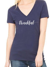 Thankful (Women's Deep V-Neck) in 8 colors