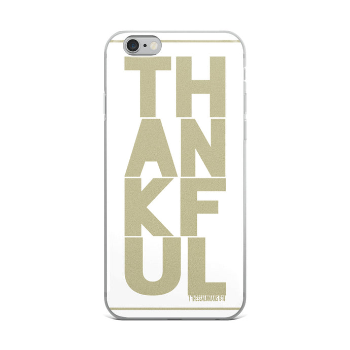 iPhone Case TH-AN-KF-UL Gold in 5 sizes