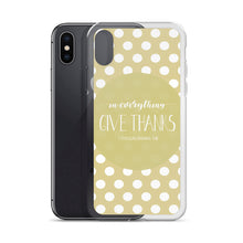 "iPhone Case ""Give Thanks"" in 5 sizes"