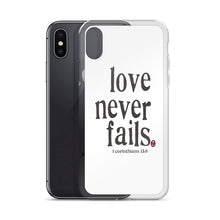 iPhone Case - Lover Never Fails