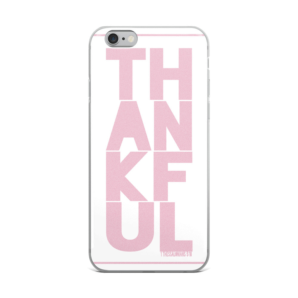 iPhone Case TH-AN-KF-UL pink in 5 sizes