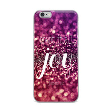 "iPhone Case ""Count It All Joy"" in 5 sizes"