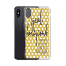 "iPhone Case ""Speak Honeycomb"" in 5 sizes"