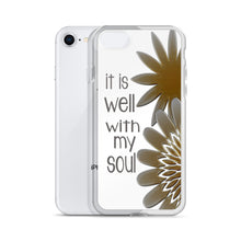 "iPhone Case ""it is well with my soul"" in 5 sizes"