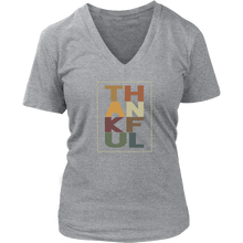 TH-AN-KF-UL (Women's V-Neck T-shirt) in 4 colors